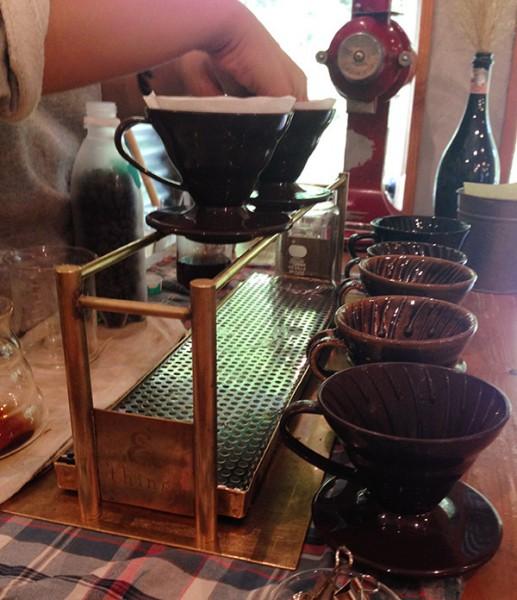 ドリッパースタンド Coffee dripper stand